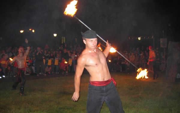 ohňová show