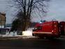 Požár bývalého skladu civilní ochrany v Jílovém