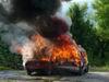 SDH-požár osobního automobilu